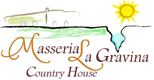 Logo Masseria la gravina bed and breakfast puglia - palagianello